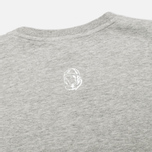 Мужская футболка Billionaire Boys Club Lux Bill Heather Grey фото- 2