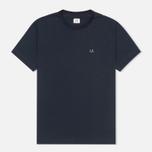 Мужская футболка C.P. Company Hood Print Blue фото- 0