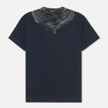 Мужская футболка C.P. Company Hood Print Blue фото- 1