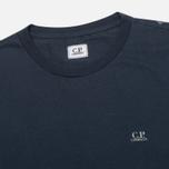 Мужская футболка C.P. Company Hood Print Blue фото- 2