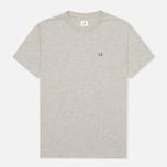 Мужская футболка C.P. Company Hood Print Grey Melange фото- 0