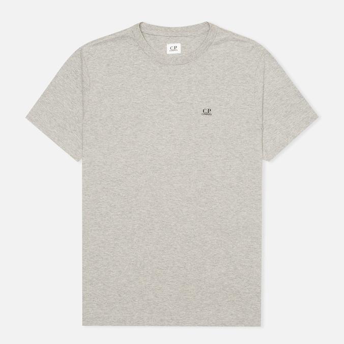Мужская футболка C.P. Company Hood Print Grey Melange