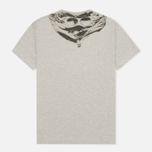 Мужская футболка C.P. Company Hood Print Grey Melange фото- 1