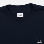 Мужская футболка C.P. Company Jersey Hood Print Dark Blue фото- 1
