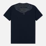 Мужская футболка C.P. Company Jersey Hood Print Dark Blue фото- 2