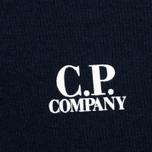Мужская футболка C.P. Company Jersey Hood Print Dark Blue фото- 3