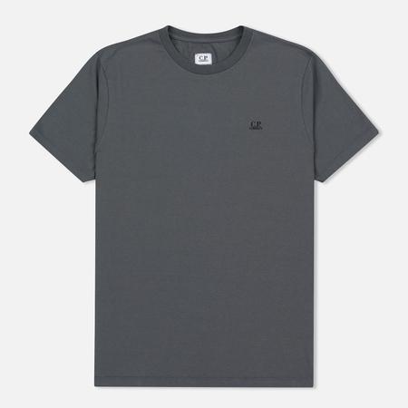Мужская футболка C.P. Company Jersey Hood Print Grey