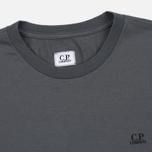 Мужская футболка C.P. Company Jersey Hood Print Grey фото- 1