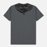 Мужская футболка C.P. Company Jersey Hood Print Grey фото- 2