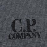 Мужская футболка C.P. Company Jersey Hood Print Grey фото- 3
