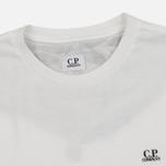 Мужская футболка C.P. Company Jersey Hood Print White фото- 2