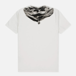 Мужская футболка C.P. Company Jersey Hood Print White фото- 1