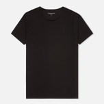 Мужская футболка Derek Rose 8005 Jack 1 Crew Neck Black фото- 0