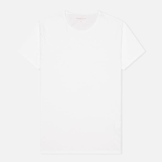 Мужская футболка Derek Rose 8005 Jack 1 Crew Neck White