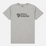 Мужская футболка Fjallraven Logo Grey фото- 0