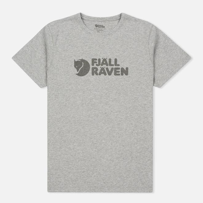 Мужская футболка Fjallraven Logo Grey