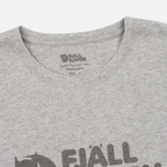 Fjallraven Logo Men's T-shirt Grey photo- 1