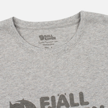 Мужская футболка Fjallraven Logo Grey фото- 1