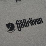 Мужская футболка Fjallraven Retro Grey фото- 2