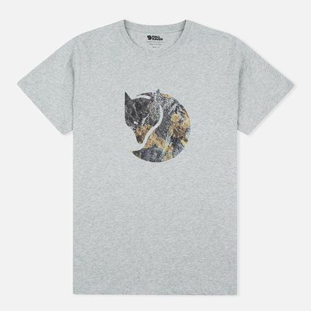 Мужская футболка Fjallraven Rock Logo Grey