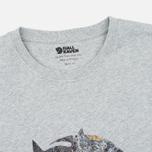Мужская футболка Fjallraven Rock Logo Grey фото- 1