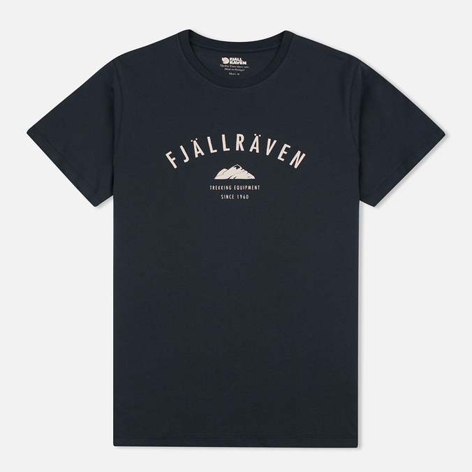 Мужская футболка Fjallraven Trekking Equipment Dark Navy