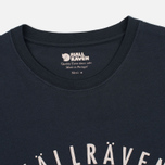 Мужская футболка Fjallraven Trekking Equipment Dark Navy фото- 1