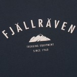 Мужская футболка Fjallraven Trekking Equipment Dark Navy фото- 2