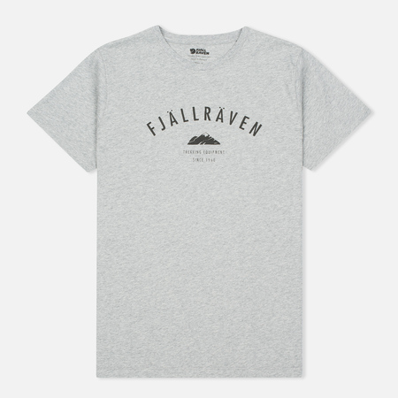 Fjallraven Trekking Equipment Men's T-shirt Grey