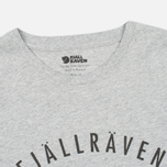 Мужская футболка Fjallraven Trekking Equipment Grey фото- 1