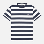 Fred Perry Striped Ringer Men's T-shirt White photo- 0