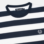 Fred Perry Striped Ringer Men's T-shirt White photo- 1
