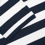 Мужская футболка Fred Perry Striped Ringer White фото- 3