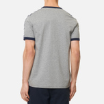 Fred Perry Taped Ringer Men's T-shirt Steel Marl photo- 2