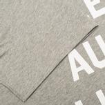Maison Kitsune Je Suis Alle Men's T-shirt Grey Melange photo- 3