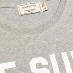Maison Kitsune Je Suis Alle Men's T-shirt Grey Melange photo- 2