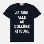 Мужская футболка Maison Kitsune Je Suis Alle Navy фото- 0