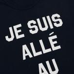 Мужская футболка Maison Kitsune Je Suis Alle Navy фото- 2