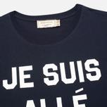 Maison Kitsune Je Suis Alle Men's T-shirt Navy photo- 1