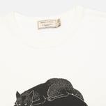 Maison Kitsune Moonassi Cuddle Men's T-shirt White photo- 1