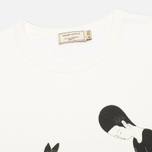 Мужская футболка Maison Kitsune Moonassi Pray White фото- 1