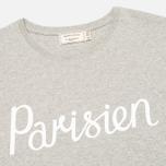 Мужская футболка Maison Kitsune Parisien Grey Melange фото- 1