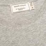 Мужская футболка Maison Kitsune Parisien Grey Melange фото- 2