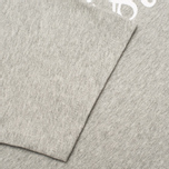 Мужская футболка Maison Kitsune Parisien Grey Melange фото- 3