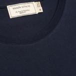 Мужская футболка Maison Kitsune Parisien Navy фото- 2