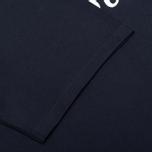 Мужская футболка Maison Kitsune Parisien Navy фото- 3
