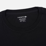 Lacoste Pima Jersey Crewneck Men's T-shirt Black photo- 1