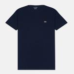 Мужская футболка Lacoste Pima Jersey Navy фото- 0