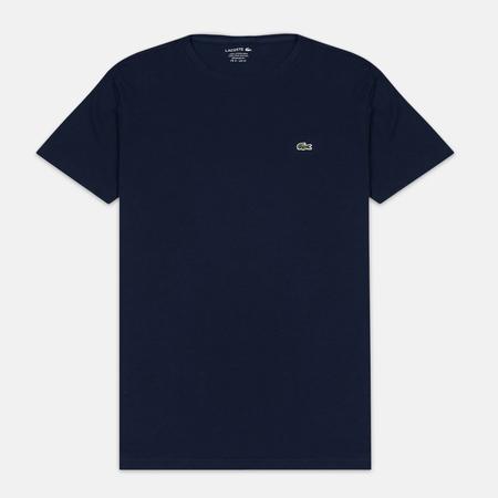 Lacoste Pima Jersey Crewneck Men's T-shirt Navy