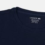 Мужская футболка Lacoste Pima Jersey Navy фото- 2